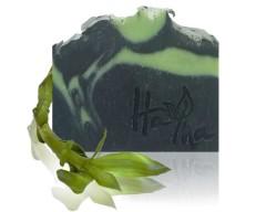 Fekete-zöld agyagos szappan