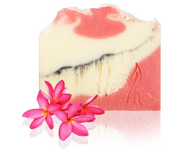 Rózsa agyagos szappan