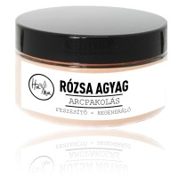 Rózsa agyag arcpakolás